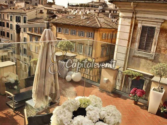 Terrazze panoramiche per feste di compleanno a Roma